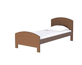 Купить кровать Орма - Мебель Vesna Line 1 (сосна)